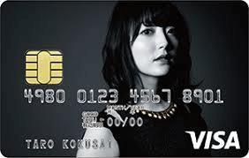 5.花澤香菜 VISAカード